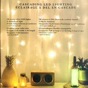 LED Curtain lights 2 boxes NEW